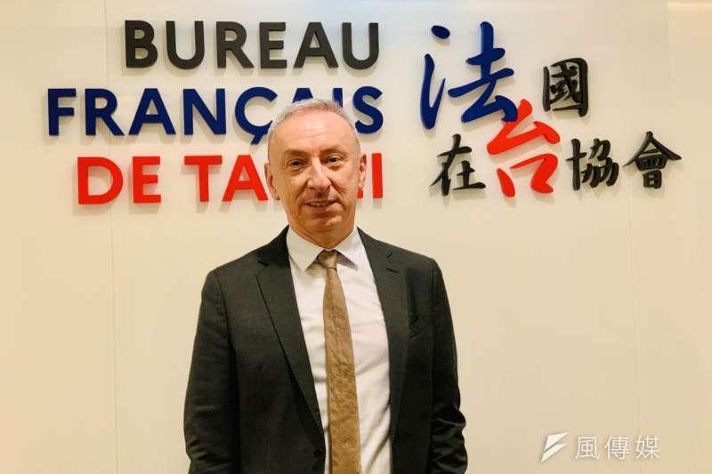 法國駐台代表、法國在台協會主任公孫孟(簡恒宇攝)