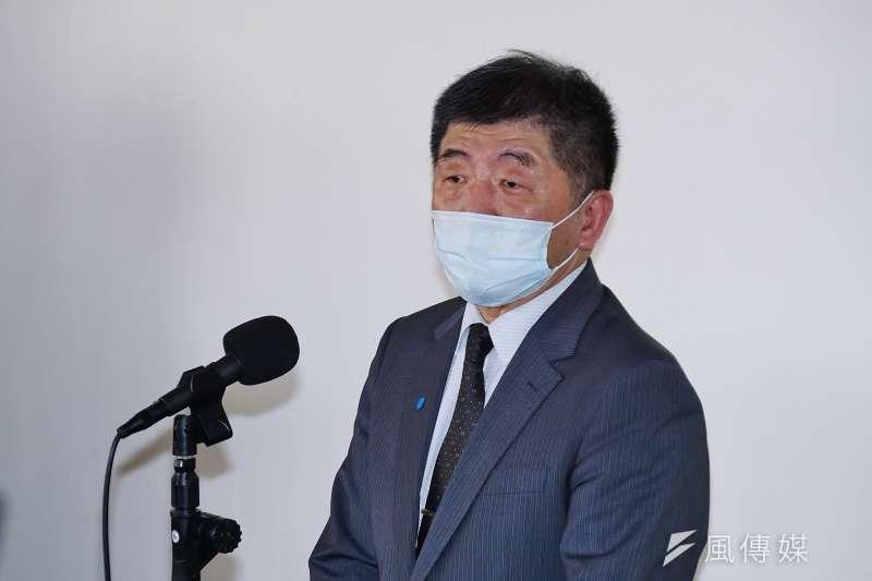 衛福部長陳時中17日赴立法院備詢,並針對AZ疫苗議題做出說明。(盧逸峰攝)