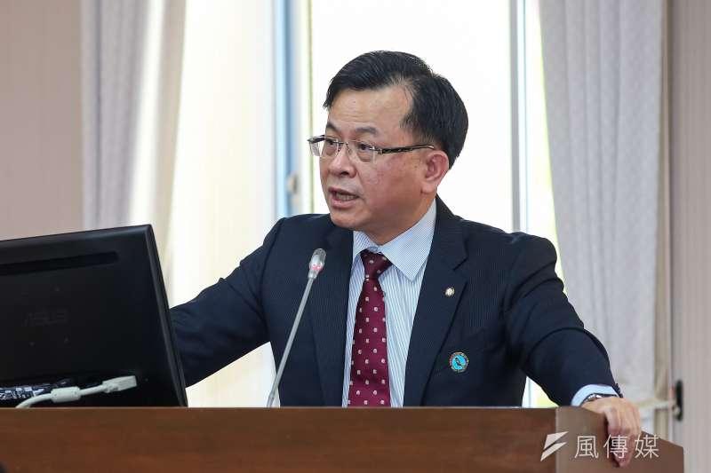 NCC主委陳耀祥於立法院交通委員會備詢。(顏麟宇攝)