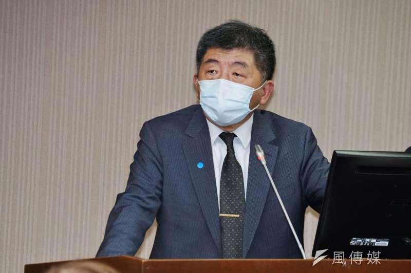 20210317-衛福部長陳時中17日出席衛環委員會。(盧逸峰攝)