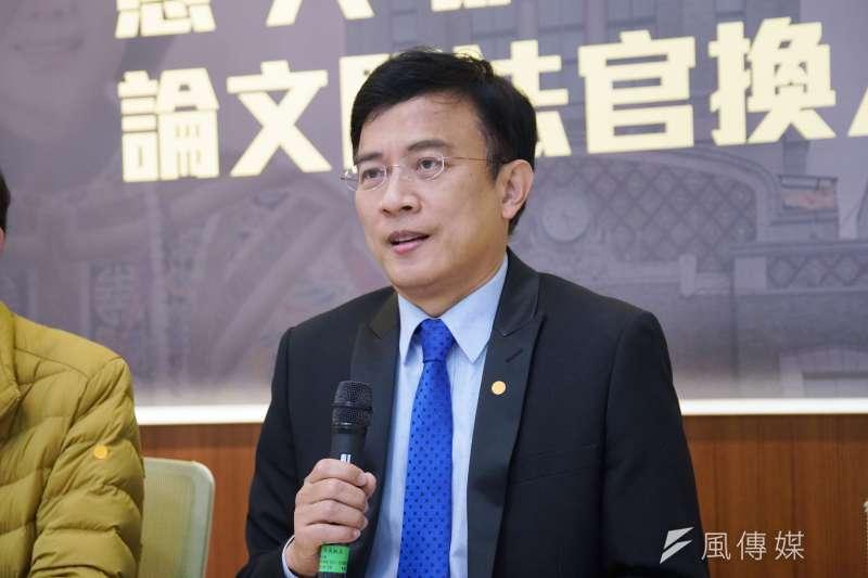 彭文正質疑總統蔡英文博士學歷造假,遭北檢31日依加重誹謗罪起訴。(資料照,盧逸峰攝)