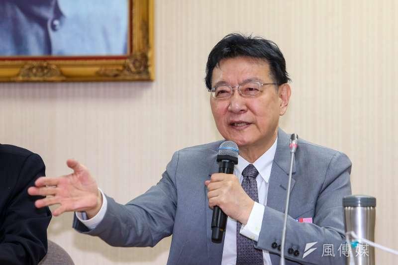 對於國民黨未發給他中評委聘書,趙少康說他有叫國民黨不用發 。(資料照,顏麟宇攝)