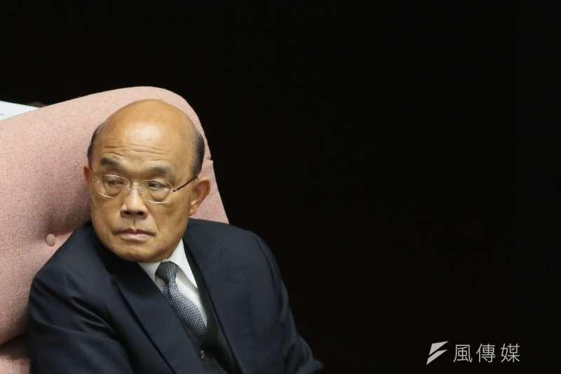 立法院將於17日開議,行政院長蘇貞昌將針對3+11案進行報告。(資料照,柯承惠攝)