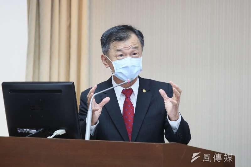 20210322-陸委會主委邱太三22日至立院備詢。(柯承惠攝)