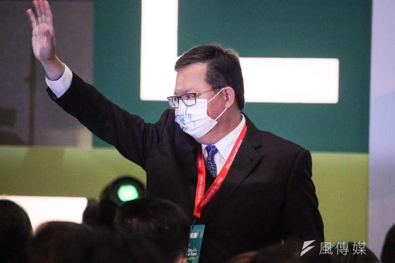 桃園市長鄭文燦(見圖)表示,現在最重要的責任是防疫,把防疫做好是最重要的目標。(資料照,蔡親傑攝)