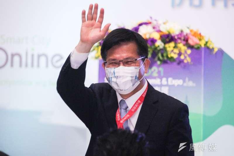 交通部前部長林佳龍近日啟動公益活動「光合之旅」,要全台跑透透。(資料照,蔡親傑攝)