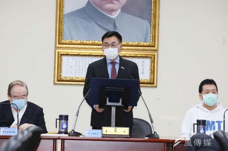 國民黨主席江啟臣指出,一再謠傳不利於東南亞國家的不實訊息,顯示政府的對外經營和溝通出現問題。(資料照,柯承惠攝)
