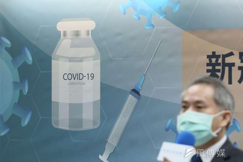 2021年3月24日,新興科技媒體中心舉行「新冠疫苗不良 事件與變種病毒專家記者會」。(資料照,柯承惠攝)