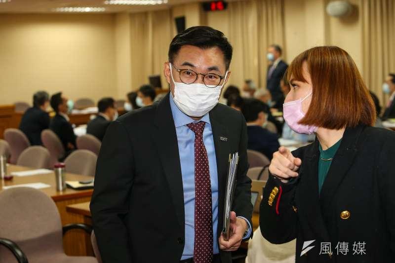國民黨主席回應新疆棉爭議。(資料照片,顏麟宇攝)