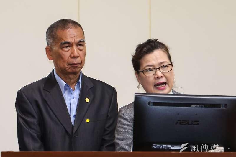 20210324-經濟部長王美花(右)、中油總經理李順欽24日於經濟委員會備詢。(顏麟宇攝)