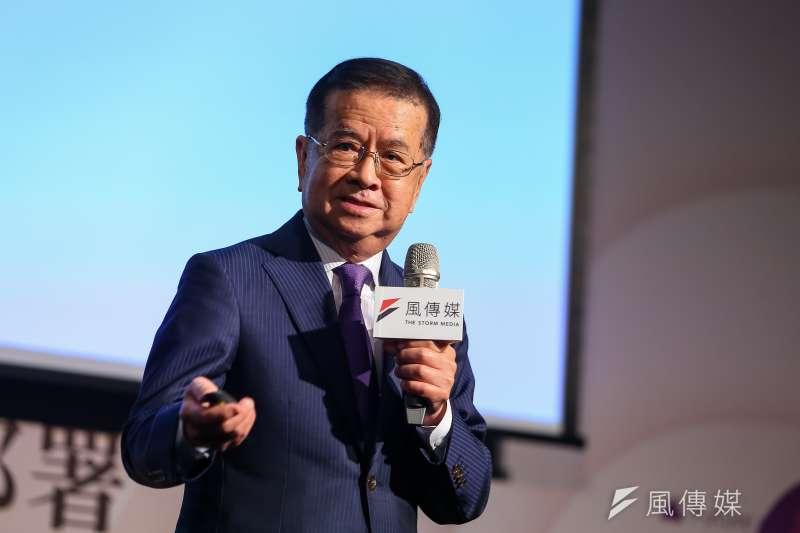 重仁塾塾長徐重仁25日出席風傳媒舉辦「好好退休論壇」。(顏麟宇攝)