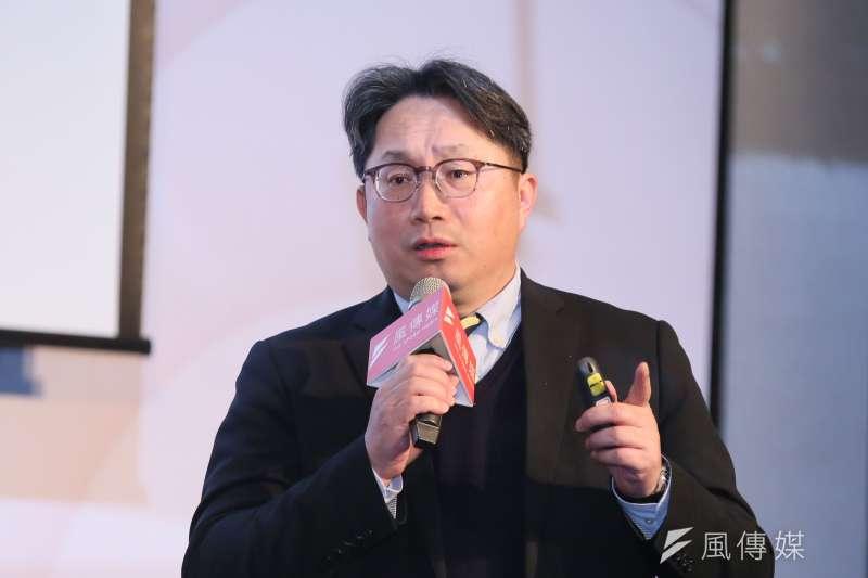 風傳媒25日舉行好好退休論壇,元大投信董事長劉宗聖出席演講。(柯承惠攝)