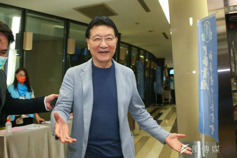 20210327-中廣董事長趙少康27日出席青雁基金會召開「護憲保台論壇」。(顏麟宇攝)
