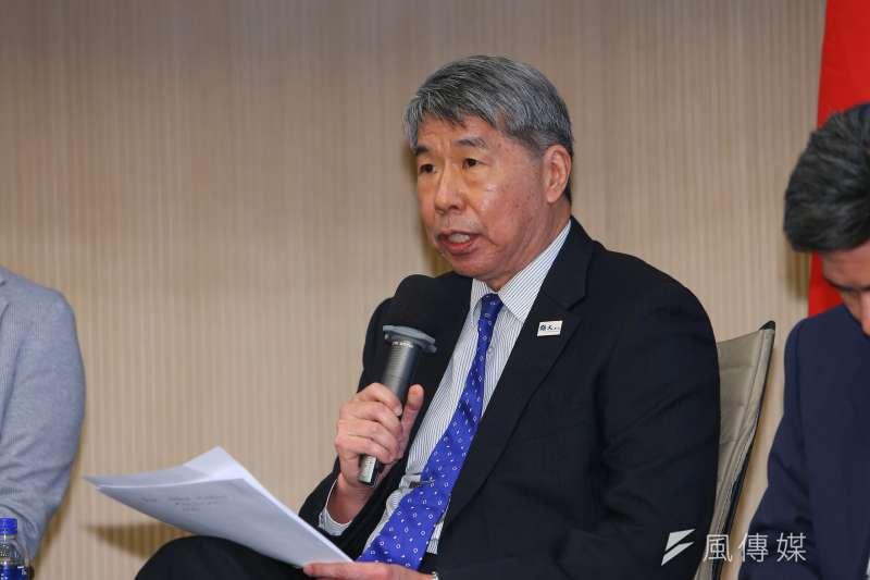張亞中認為,國民黨光靠「天王」和「團結」,已經不足以贏得選舉了。(資料照,顏麟宇攝)