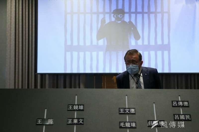 20210327-促轉會27日舉辦「平復司法不法之第五至七波刑事有罪判決撤銷公告儀式」。(顏麟宇攝)
