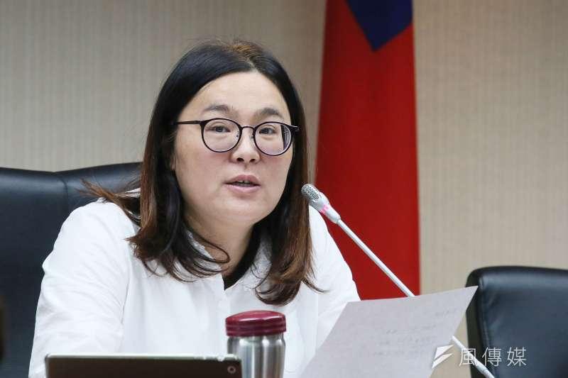 20210331-立委陳玉珍31日出席立院衞環委員會。(柯承惠攝)