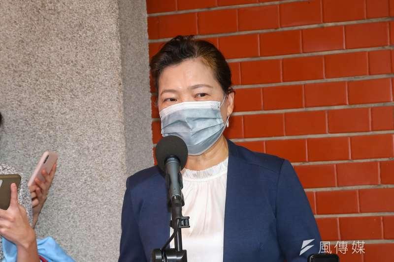 台電短時間內2次停電,經濟部長王美花(見圖)18日透過影片再次道歉。(資料照,顏麟宇攝)