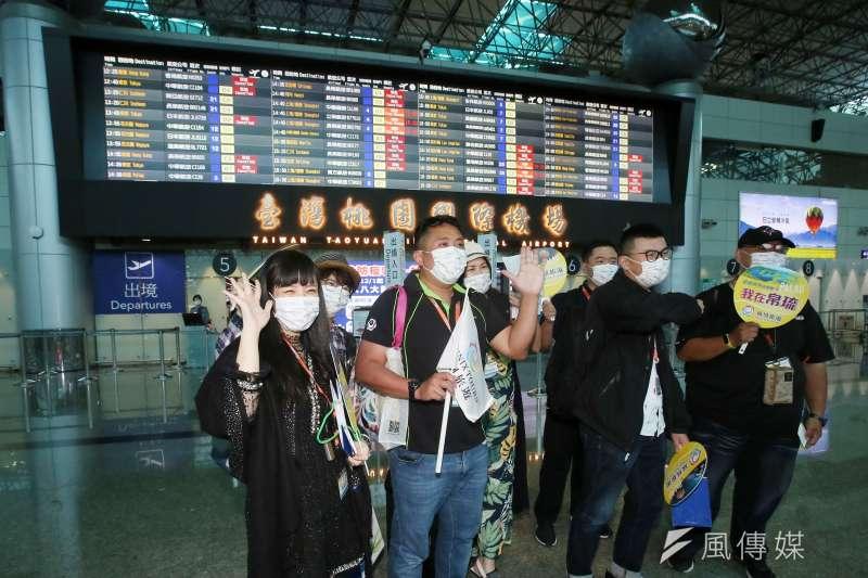 帛琉旅遊泡泡團1日起飛,首航班機雖湊足100人,但是4日出發的第二團卻只賣出10個位子。(資料照,柯承惠攝)