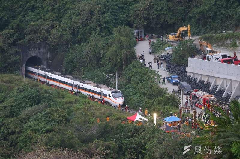 台鐵太魯閣號出軌事故,肇禍包商「義程營造」曾承攬17件交通部工程。(顏麟宇攝)
