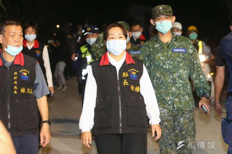 徐榛蔚22日宣布花蓮出現三例新冠肺炎確診本土個案,都是在外地就學、就業的返鄉者。(資料照,顏麟宇攝)