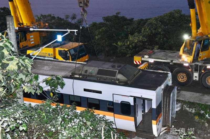 台鐵太魯閣號408車次事故,釀50死,超過200人輕重傷。其中第49名罹難者身分已確認。(資料照,顏麟宇攝)
