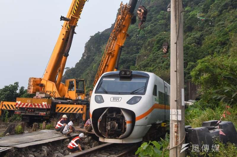 台鐵太魯閣號列車2日上午發生嚴重事故,造成50人死亡、202人輕重傷的悲劇。(資料照,顏麟宇攝)
