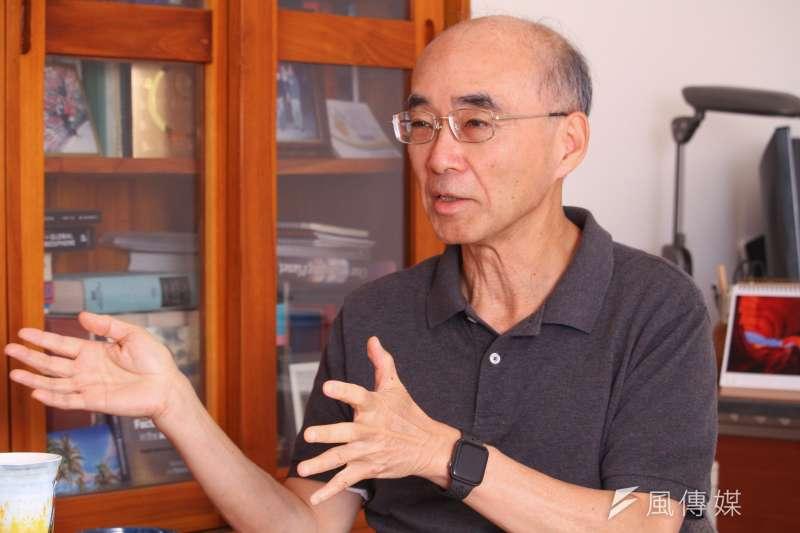 20210330-中研院環境變遷中心特聘研究員許晃雄專訪。(蔡親傑攝)