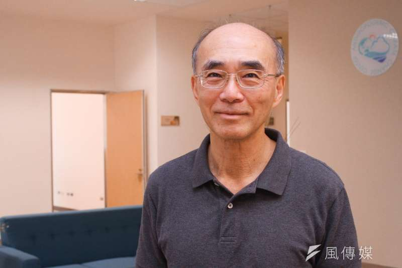 中研院環境變遷中心特聘研究員許晃雄指出,面對氣候變遷的威脅,台灣需要一個「國家水資源策略」。(蔡親傑攝)