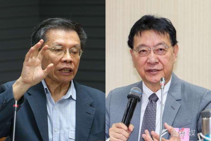 前立委沈富雄6日在臉書提到,有志大位的國民黨人,包括中廣董事長趙少康在內,就是說不出「拒統」。(資料照,顏麟宇攝/照片合成:風傳媒)