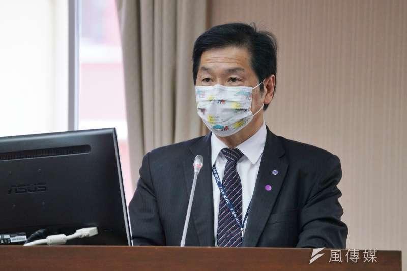 20210407-交通部次長祁文中7日赴立法院交通委員會備詢。(盧逸峰攝)