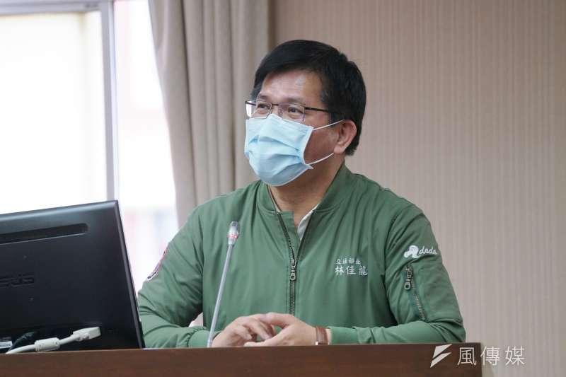 太魯閣慘劇10天後,行政院終於批准交通部長林佳龍辭呈。(資料照片,盧逸峰攝)