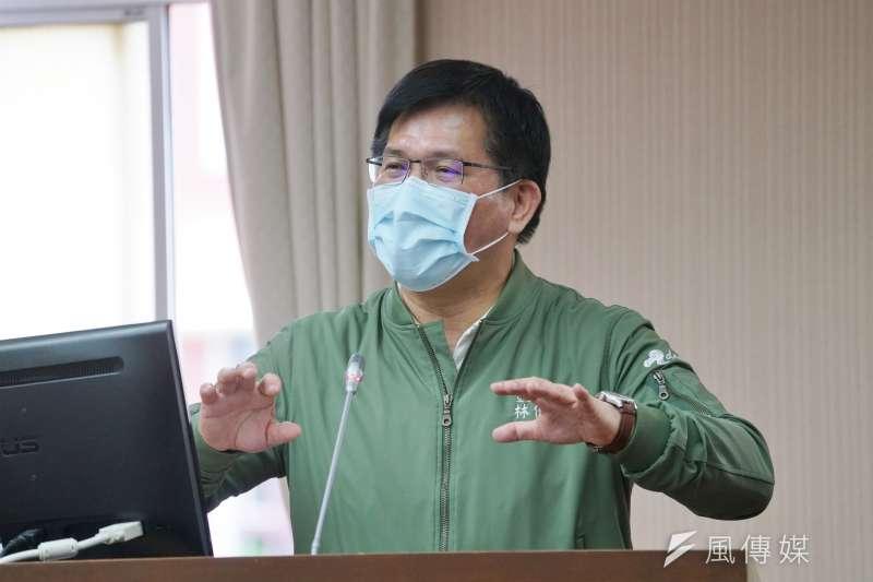 民團認為林佳龍在交通界的「不專業」,反而成為他可以推動交通改革的助力。(資料照,盧逸峰攝)
