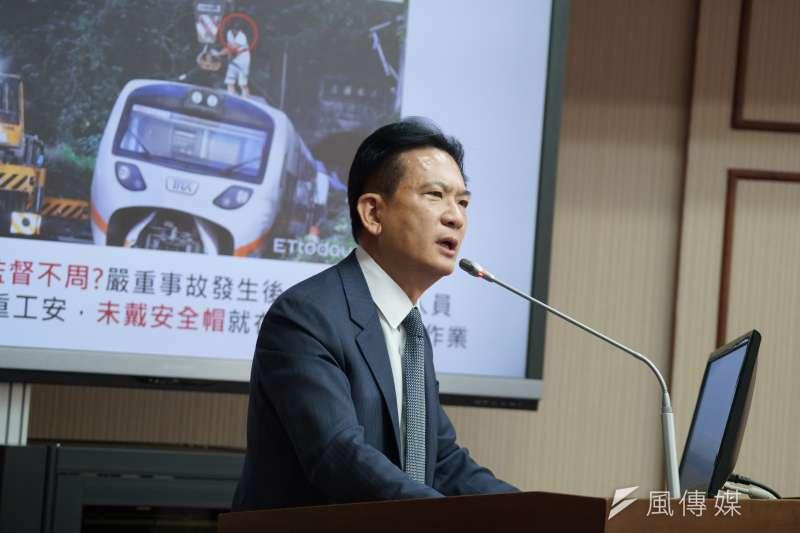 民進黨立委林俊憲於財產申報標註已於2020年離婚。(資料照,盧逸峰攝)