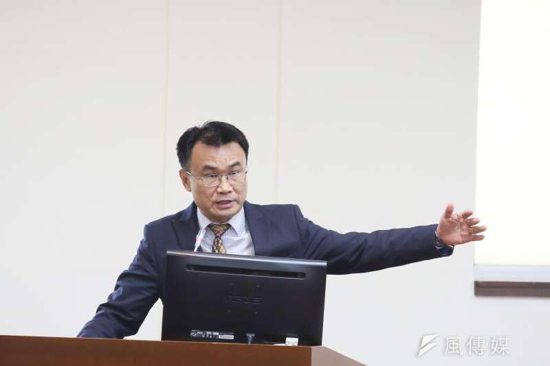 20210407-農委會主委陳吉仲7日出席立院經濟委員會。(柯承惠攝)