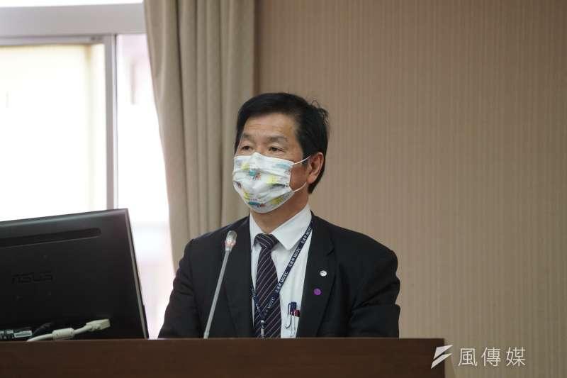 20210407-交通部次長祁文中7日出席交通委員會備詢。(盧逸峰攝)