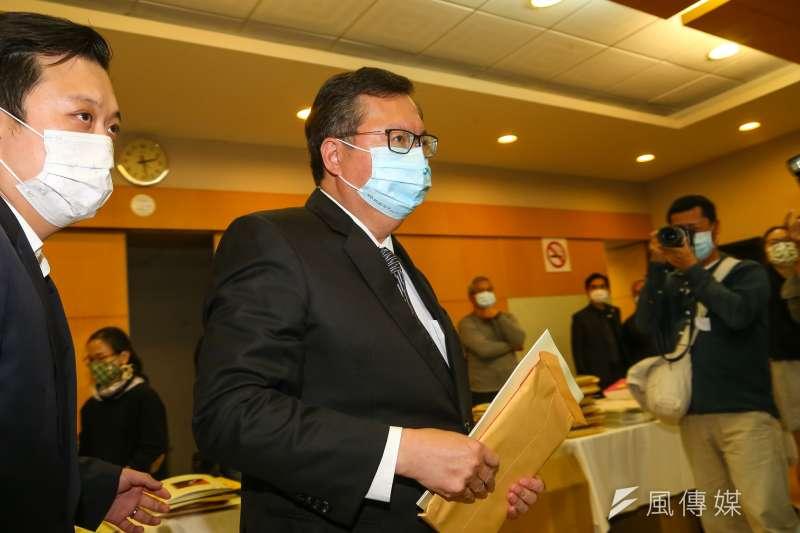鄭文燦29日表示,富諾特1名主管確診,目前已將400多名員工安置到其他檢疫場所。(資料照,顏麟宇攝)