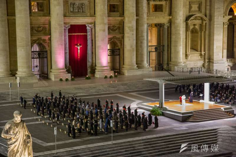 2021年的聖伯多祿拜苦路儀式。(曾廣儀攝)