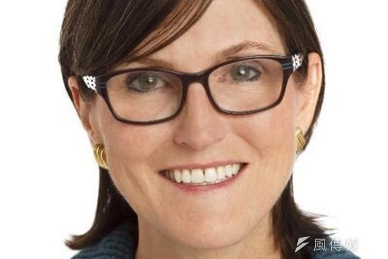 被暱稱為「女股神」的伍德(Cathie Wood),因近年基金高成長,聲譽鵲起。(圖片來源:MONEY DJ)