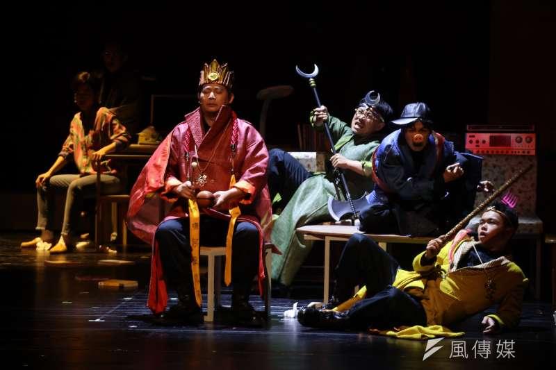 來自嘉義的阮劇團在18年耕耘後,將以《十殿》做為給自己的成年禮,將在土地上吸收的養分帶上國表藝三館舞台。(兩廳院提供)
