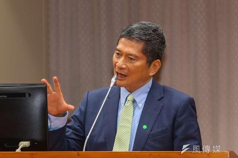 20210414-文化部長李永得14日於教育文化委員會備詢。(顏麟宇攝)