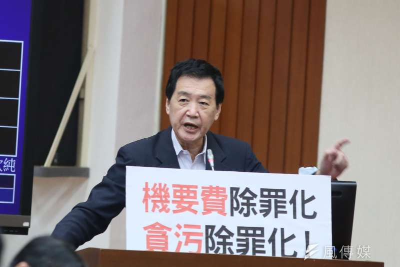 國民黨立委費鴻泰(見圖)日前批衛福部長陳時中「根本應該被槍斃」。(資料照,柯承惠攝)