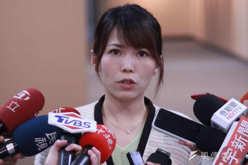 台北市政府發言人陳智菡(見圖)表示,已匡列確診的AIT油漆工人的18名相關接觸者。(資料照,方炳超攝)