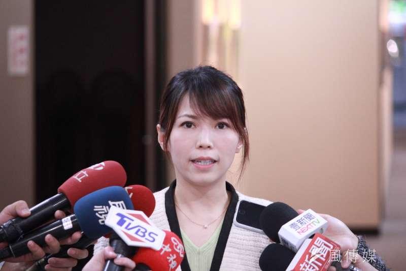 20210420-台北市政府發言人陳智菡表示,蔡炳坤之前可能有提到家庭有些因素,不過經過柯文哲慰留,蔡炳坤很樂意繼續留在北市府打拚。(方炳超攝)