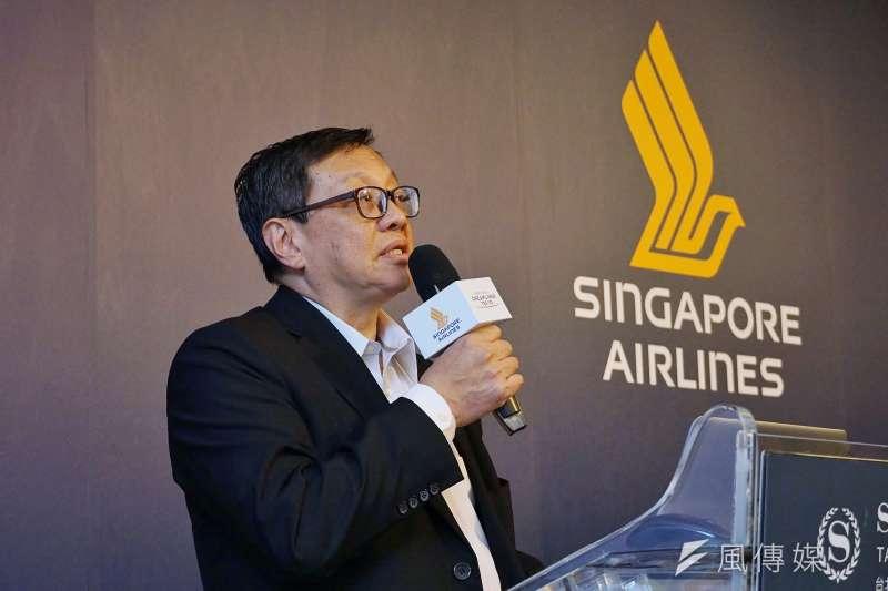 新航台灣分公司總經理蔡建華(見圖)表示,目前台灣旅客入境新加坡後只要新冠檢測陰性就免隔離。(盧逸峰攝)