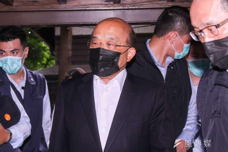 出現多起不明來源個案,行政院長蘇貞昌11日上午拍板疫情升級。(資料照片,蔡親傑攝)