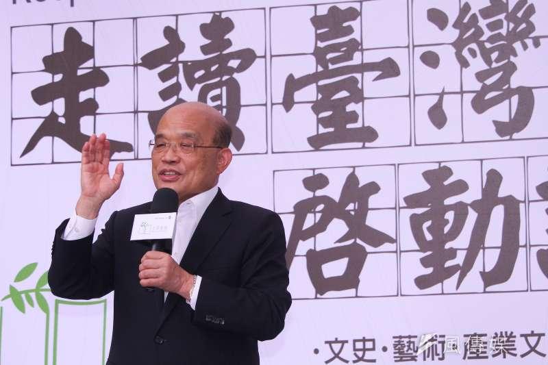 行政院長蘇貞昌拍板家庭防疫補貼,家有國小以下孩童每人領1萬。(資料照,蔡親傑攝)