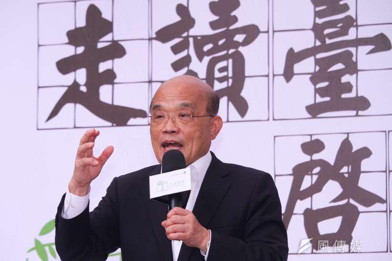 民進黨內傳出,行政院長蘇貞昌(見圖)對黨內表態,願出席所有民進黨籍立委主辦的國政說明會。(資料照,蔡親傑攝)
