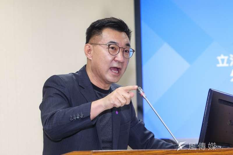20210426-國民黨立委江啟臣26日於外交國防委員會備詢。(顏麟宇攝)