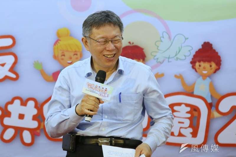 台灣疫情升溫、全國三級警戒,抗疫過程中,台北市長柯文哲支持度從六都最後一名躍升到第二名,堪稱是這一波疫情中獲益最大的政治人物。(資料照片,柯承惠攝)