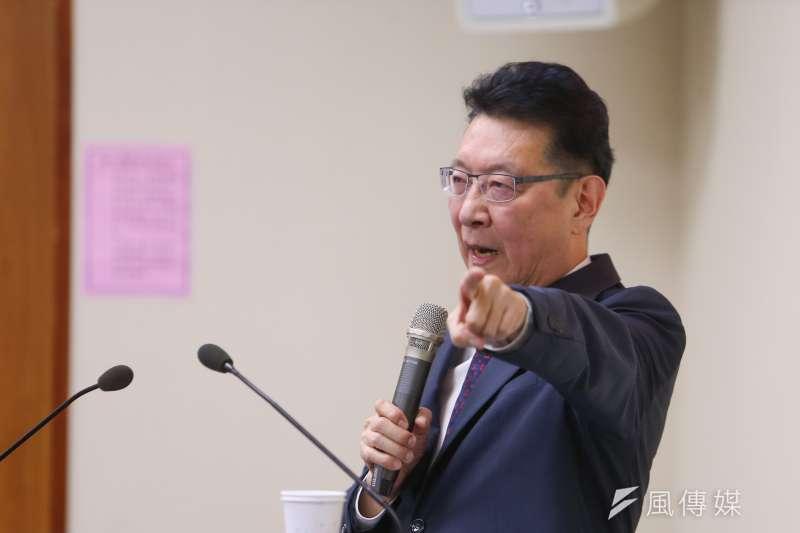 高端國產疫苗將解盲,中廣董事長趙少康10日質疑恐有內線交易。(資料照,顏麟宇攝)
